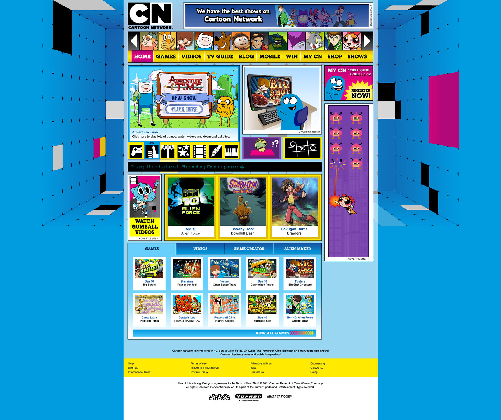 Discopony | Entertainment | Cartoon Network: 2011