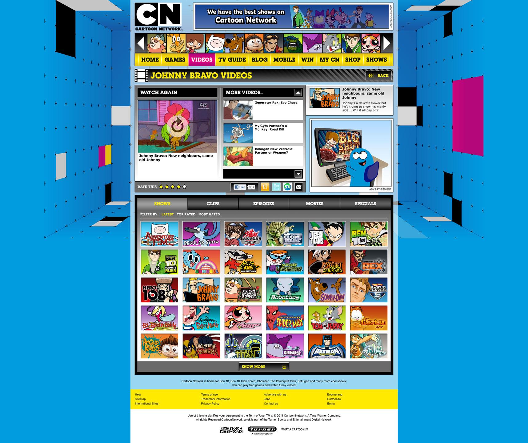 Discopony Entertainment Cartoon Network 2011